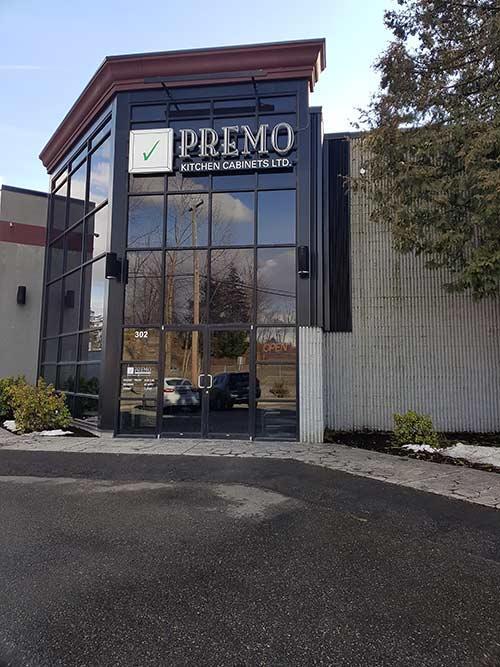 Premo Showroom Exterior in Abbotsford, BC